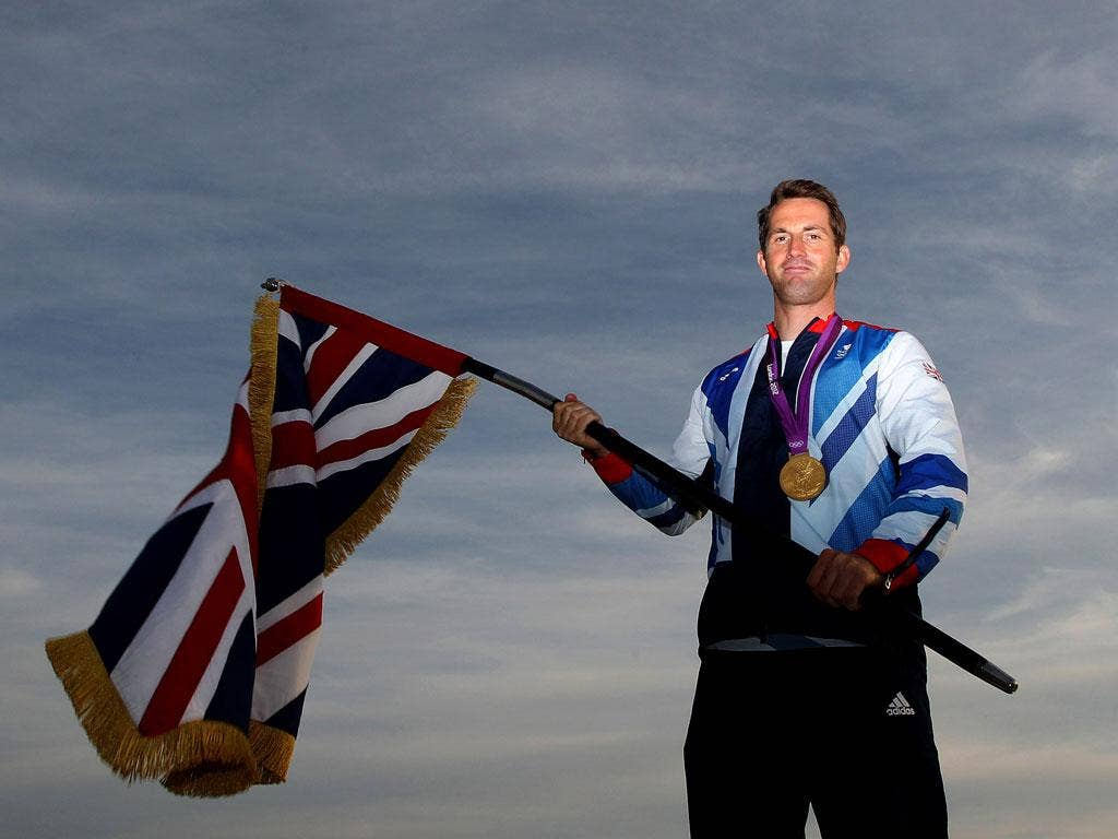 """5 - """"I didn't rescue the nation from the depths of Napoleon Bonaparte, but you do the best you can do in your style of racing."""" Ben Ainslie is customarily modest after winning his fourth Olympic gold medal"""