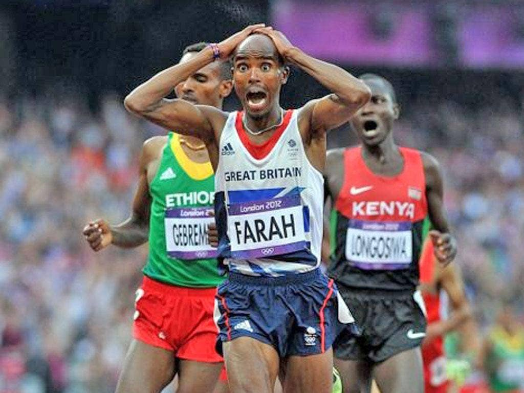 3. Mo Farah: Another double and each stands among the picture-perfect moments of the Games. First in the 10,000m and then on Saturday in the 5,000m he provided sport to savour forever