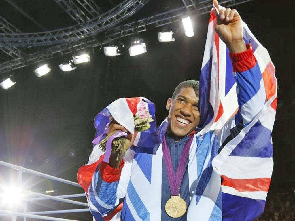 Anthony Joshua lands final-day gold to seal the most glorious Games for Britain