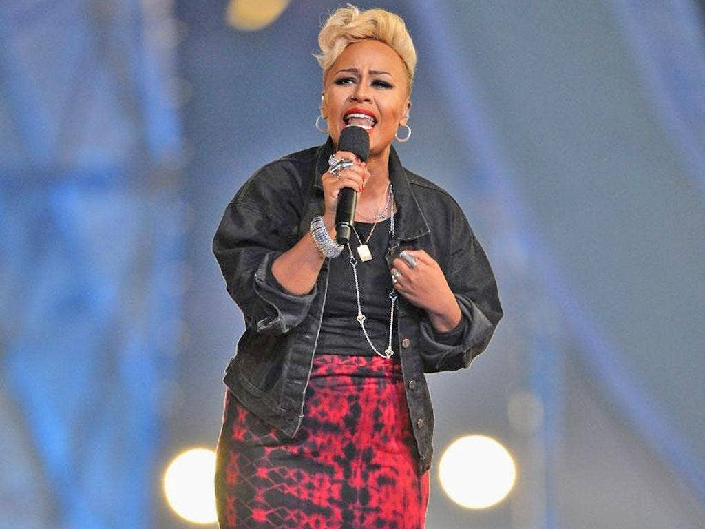 Emeli Sandé has spent much of the year in the chart with her debut album, Our Version of Events