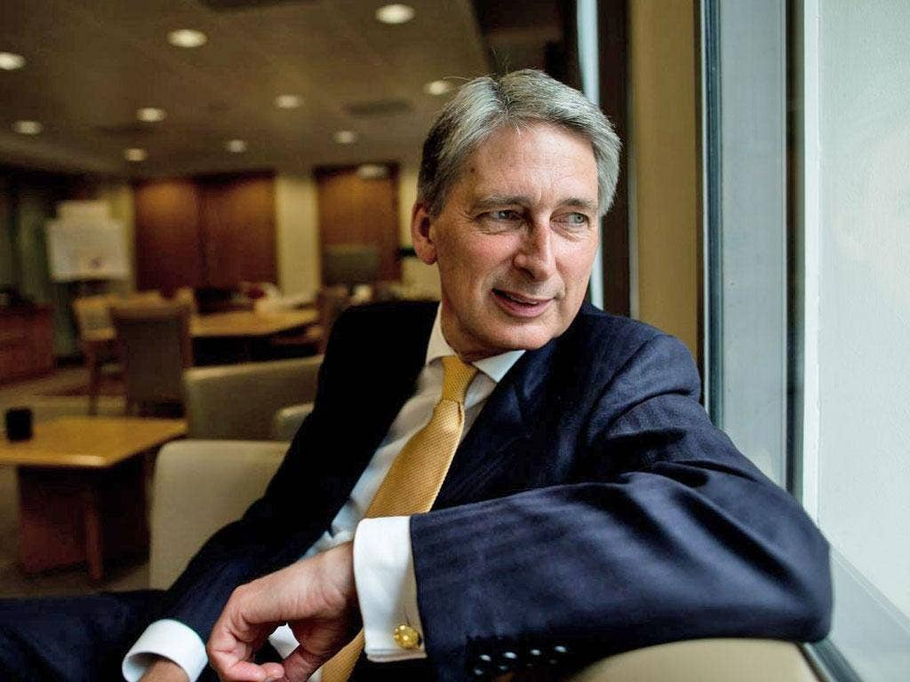 The Defence Secretary, Philip Hammond, used to think the private sector was superior, but the Olympics changed things