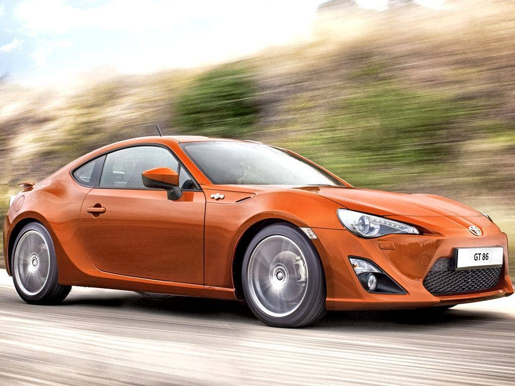 The Toyota GT86 is powered by a 565bhp 6.0-litre V12 engine
