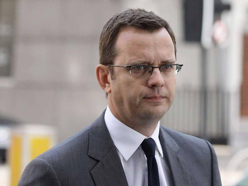 Andy Coulson arrives at Westminster Magistrates Court today