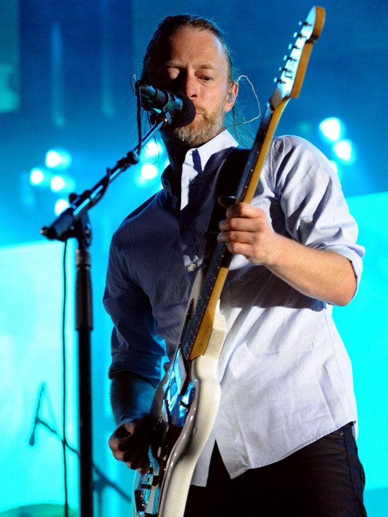 Radiohead's Thom Yorke (nominated in the Visionary category)