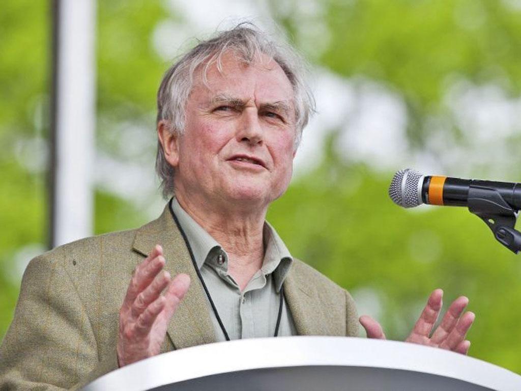 Professor Richard Dawkins, 71, best known for being an atheist