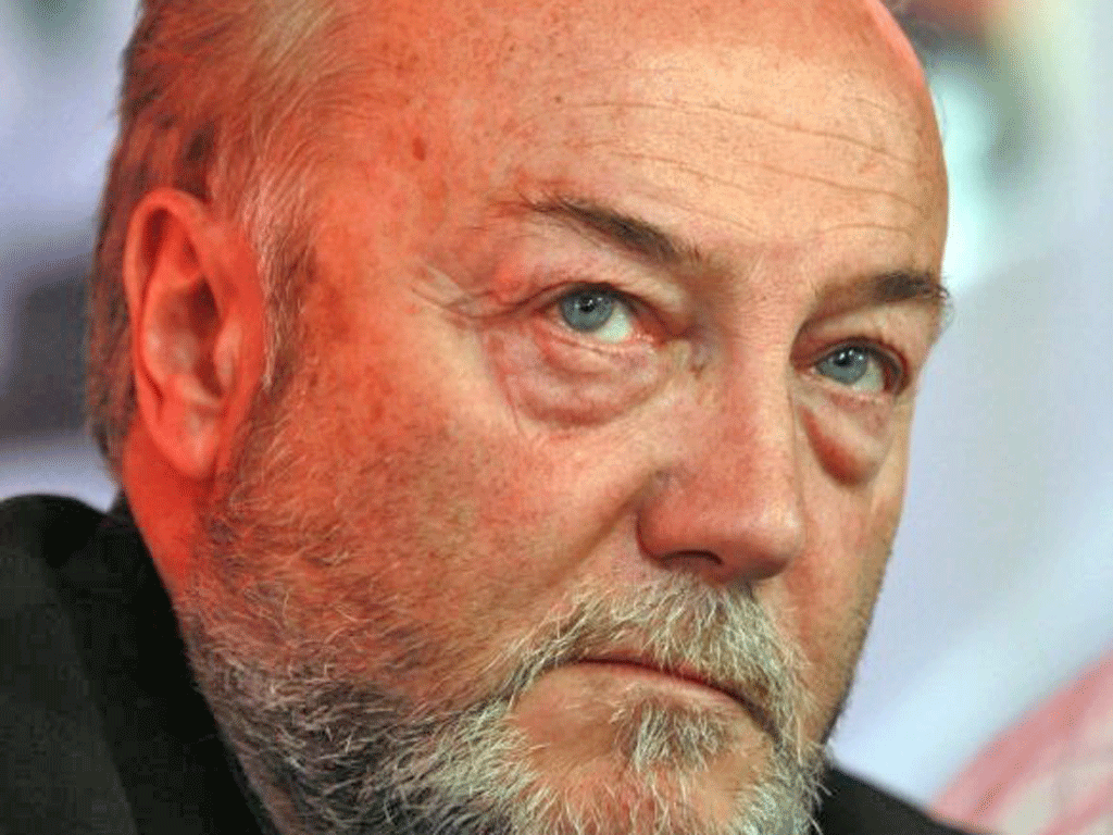 George Galloway, the Bradford MP, made a 30-minute defence of Julian Assange in a video podcast