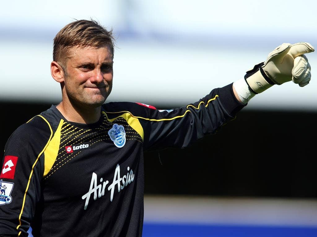 Rob Green conceded five on his QPR debut