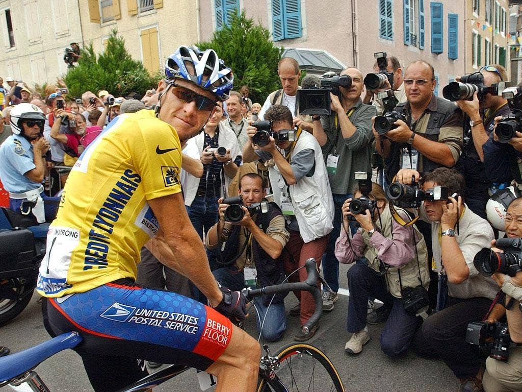 Lance Armstrong won the Tour de France seven times between 1999 and 2005