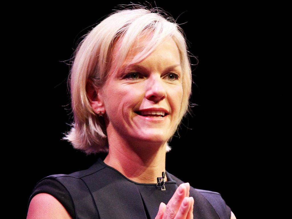 Elisabeth Murdoch: The 44-year-old said she felt a responsibility to 'stand up and be counted''