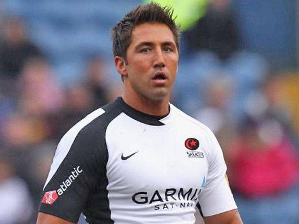 Gavin Henson: Was injured in the first minute of a pre-season game