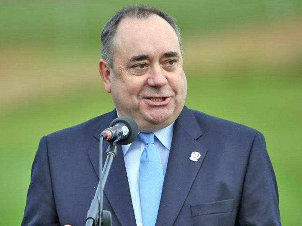 Scottish First Minister Alex Salmond, pictured, has clashed with Cardinal Keith O'Brien, leader of the Catholic Church in Scotland, over marriage