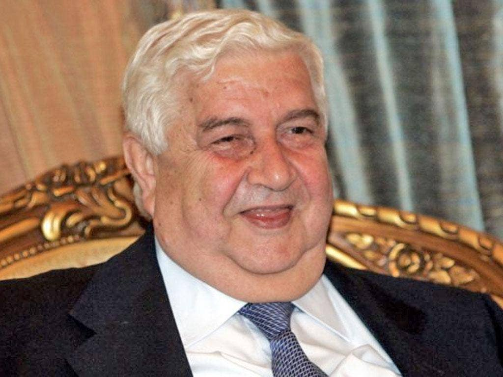 We believe that the USA is the major player against Syria and the rest are its instruments' Walid Muallem