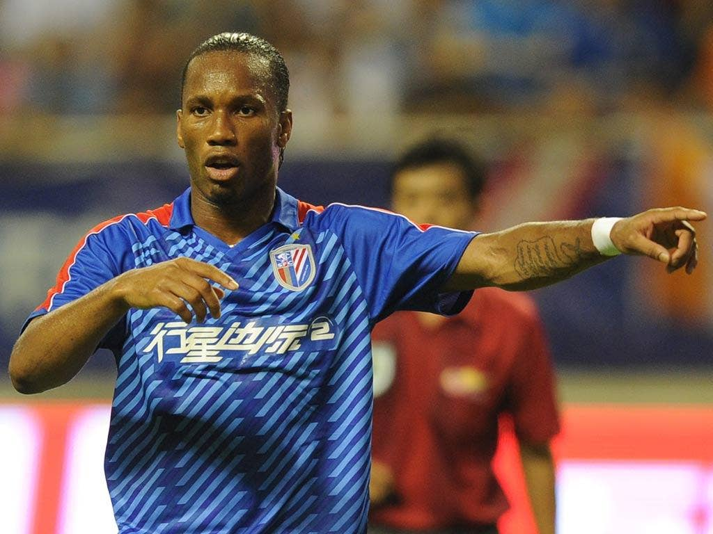 <b>Long, long shot </b><br/> There have been Chinese whispers of a return to the Premier League for <b>Didier Drogba</b>, and despite the unpredictability of the Ivorian power-house, we give it a 0.01% chance of happening. The rumours surfaced as Shanghai