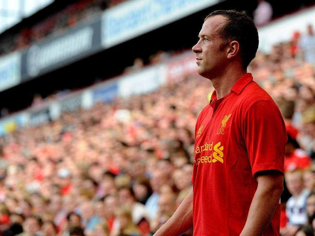 <b>Long, long shot</b><br/> Liverpool midfielder Charlie Adam has been linked with a move across Stanley Park to Everton, after not seeming to feature in Brendan Rodgers' plans for the season. The Scotsman has failed to make a great impact following his m