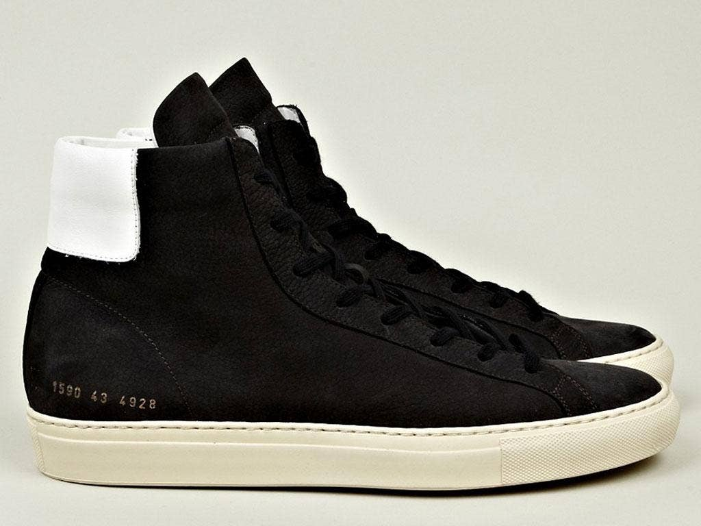 """<p><strong>Oki-ni.com</strong></p> <p><em><a href=""""http://www.oki-ni.com/"""" target=""""_blank"""" title=""""Oki-ni.com"""">Oki-ni.com</a> (Common Projects high tops, £295)</em></p> <p>For those in the know, Oki-ni is the shopping destination of choice  for something a"""