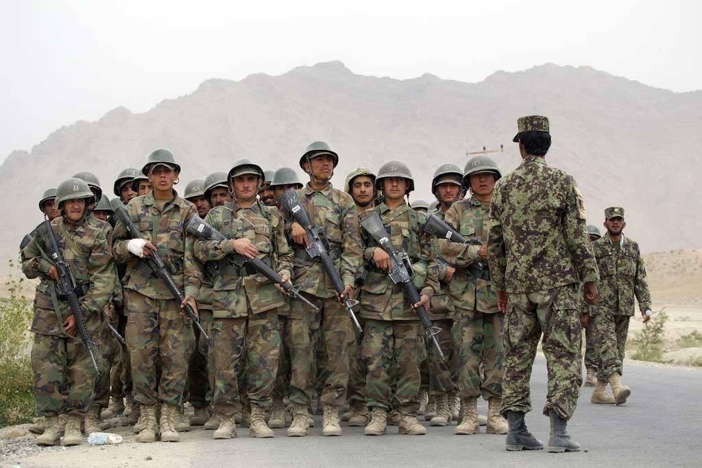Warriors: Afghan National Army (ANA) battalion, in 2010