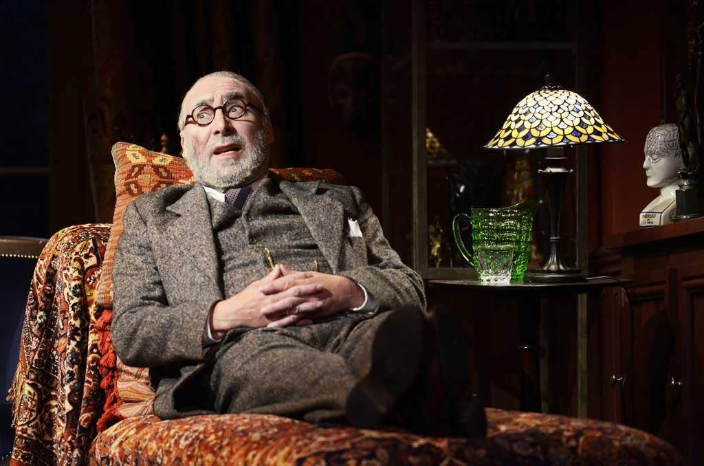 The final analysis: Antony Sher stars as a dying Freud in 'Hysteria'