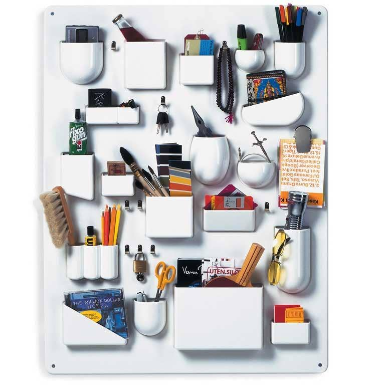 Dorothee Becker's 1960s-designed Uten.silo - a multi-compartment wall-hung storage object - is a classic, and costs £200