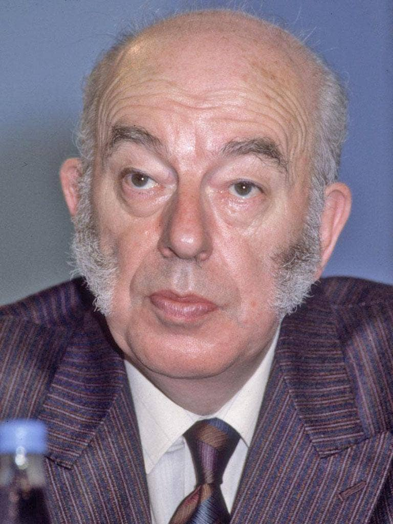 Boyson in 1986: he had become frustrated at the promotions of those he regarded as inferior