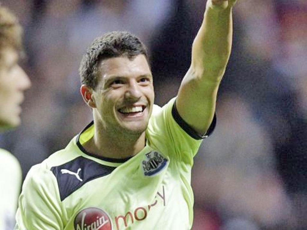 The Solvenia international Haris Vuckic scored the decisive goal