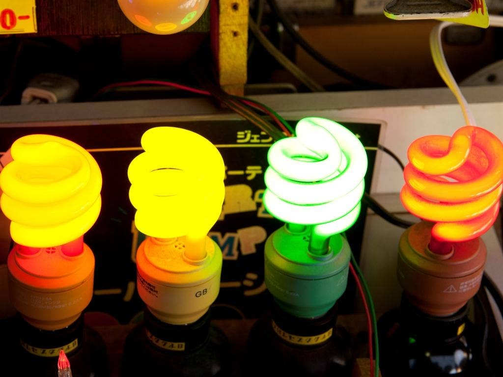 Energy-saving light bulbs can cut costs - and they come in different colours too