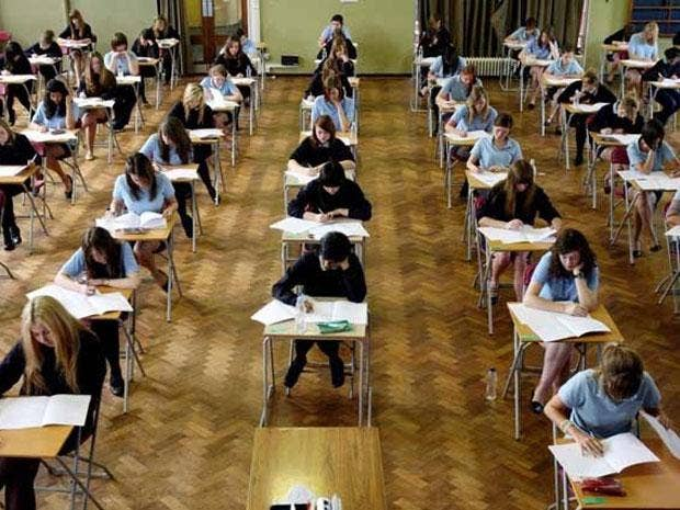 "January's GCSE English exams were ""graded generously"" but the June boundaries were properly set and candidates' work properly graded, Ofqual said today"