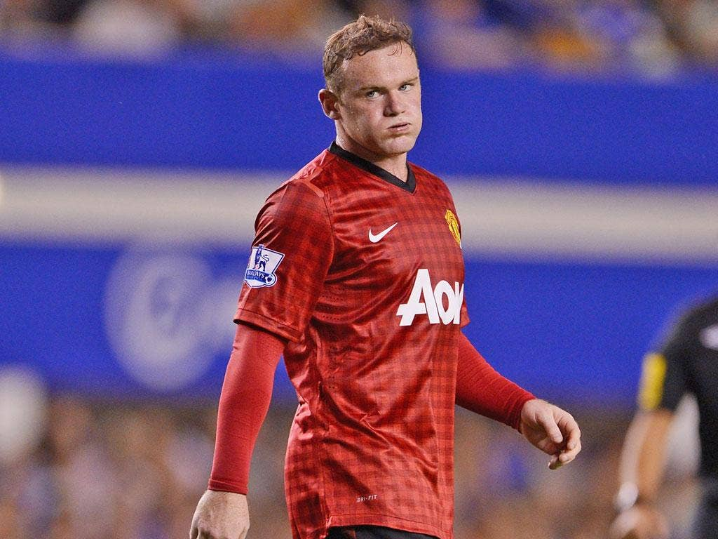 Wayne Rooney is out for a month – time he needs to spend getting fit