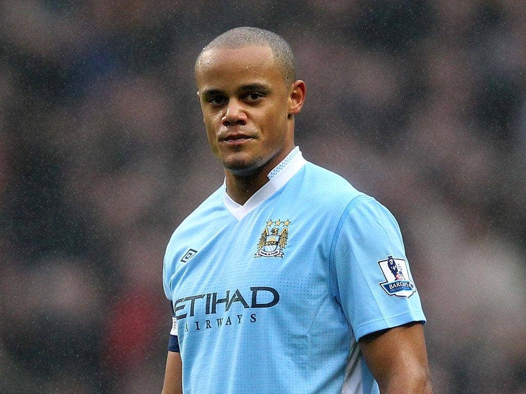 Vincent Kompany: The Manchester City captain defended his team's start to the season