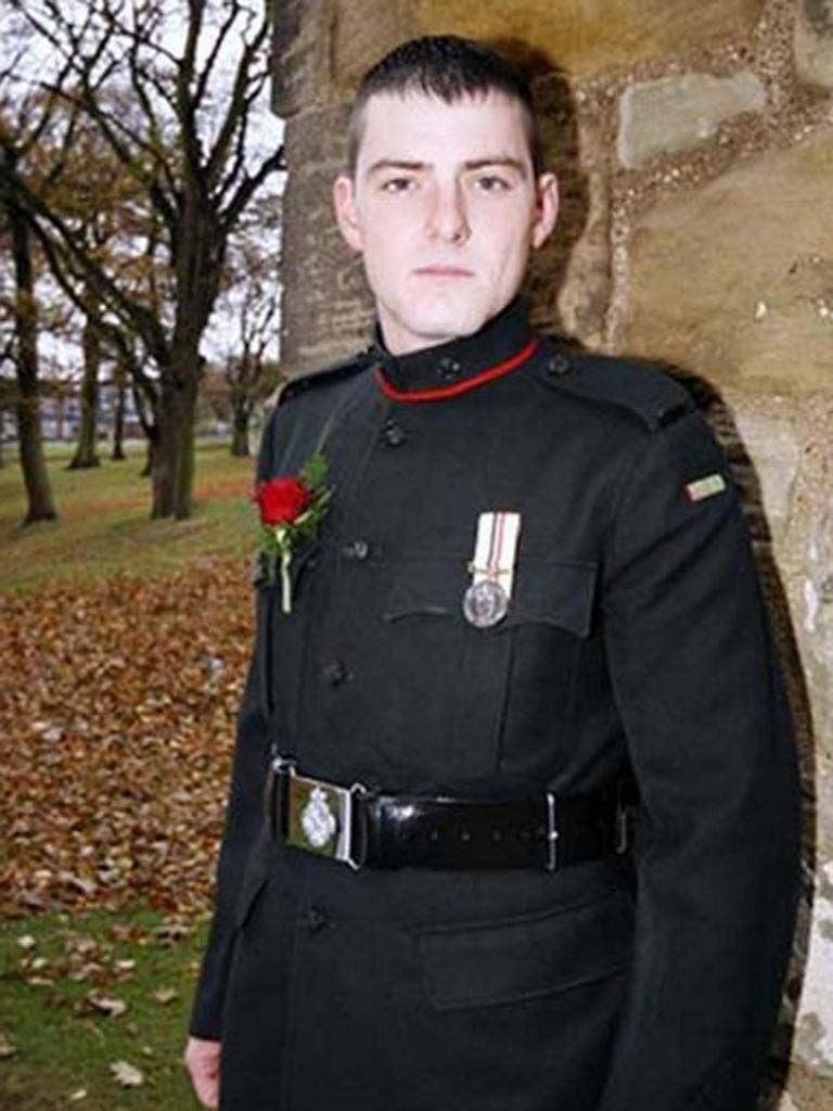 Lance Corporal Christopher Roney, 23, of 3rd Battalion The Rifles, died from head injuries he suffered while serving at Patrol Base Almas, in Sangin, Helmand, in December 2009