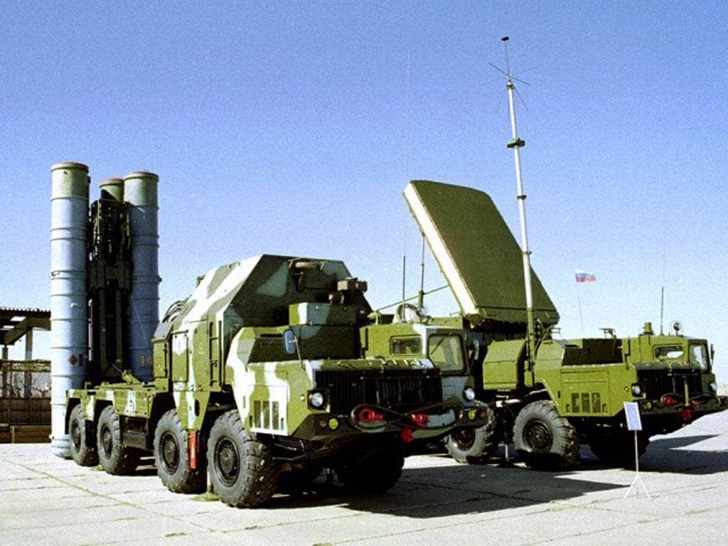 The S-300 system, which Russia refused to sell to Iran