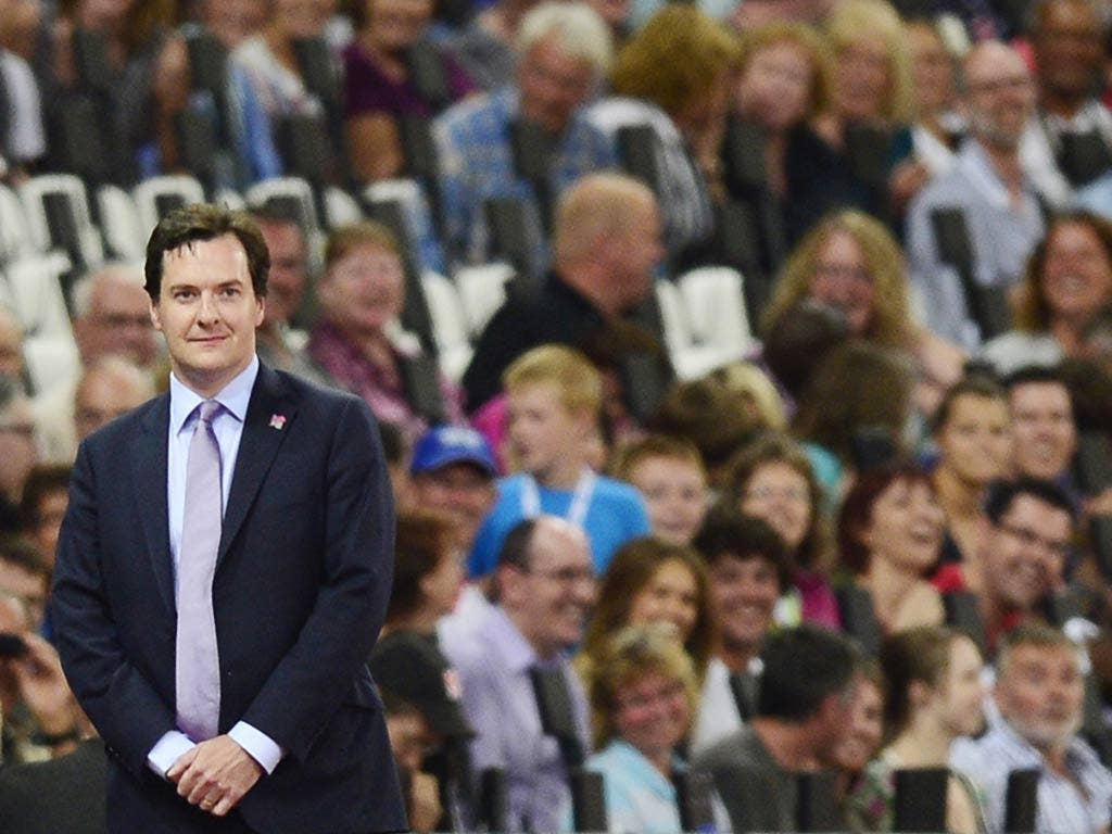 George Osborne was booed at the Olympic Stadium