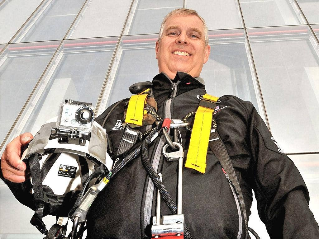 Prince Andrew's 'pointless plunge' down the Shard was the moment to take stock of his usefulness