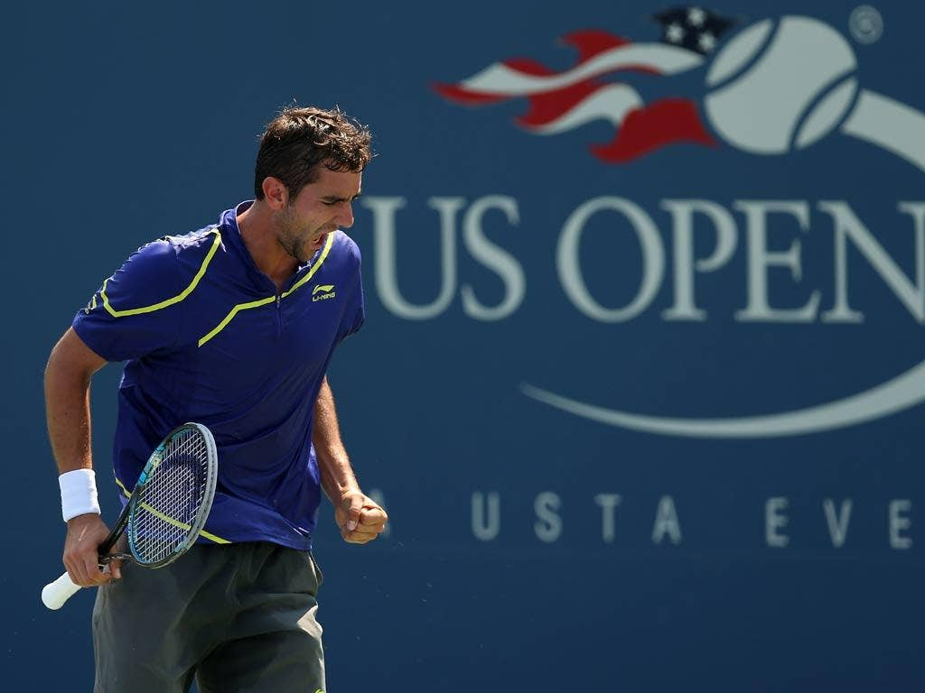 Marin Cilic at the US Open