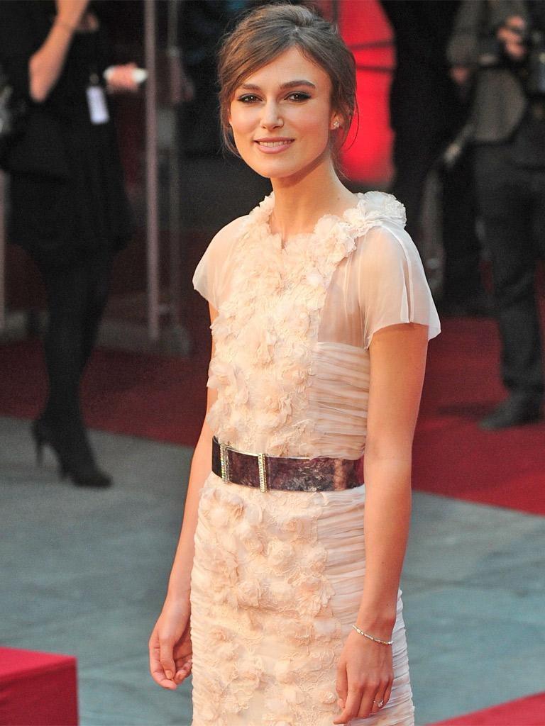 Keira Knightley: 'I'm very into stationery'