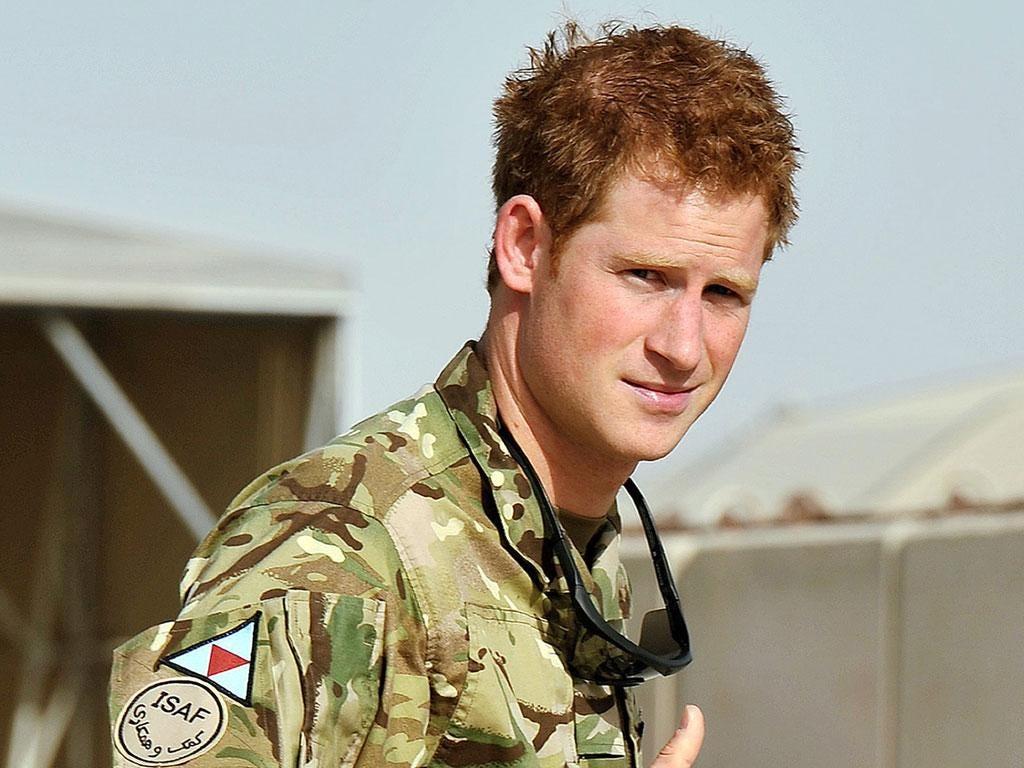 Prince Harry has returned to Afghanistan