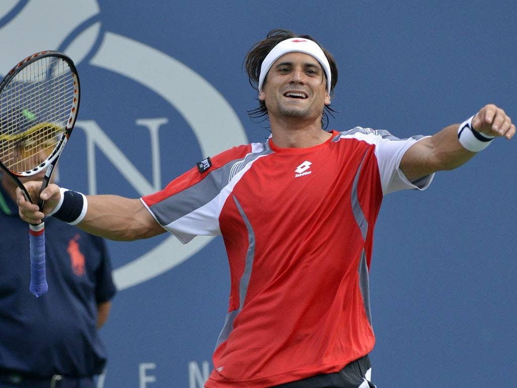 David Ferrer at the US Open