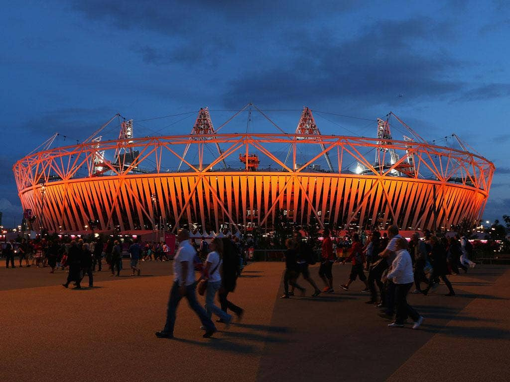 Park life: The Olympic Park in Stratford has been a field of dreams for seven weeks of the summer