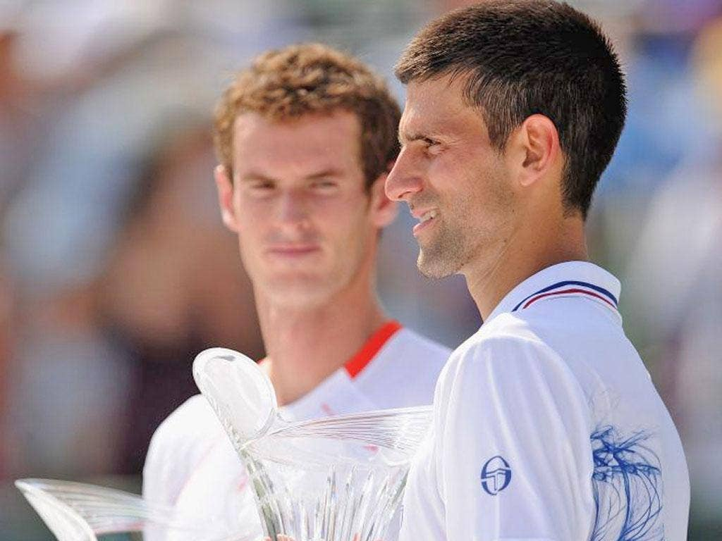 Andy Murray and Novak Djokovic have had some tough encounters