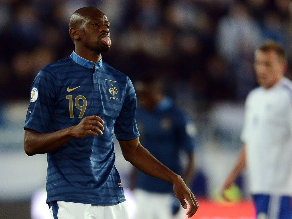 France and Arsenal midfielder Abou Diaby