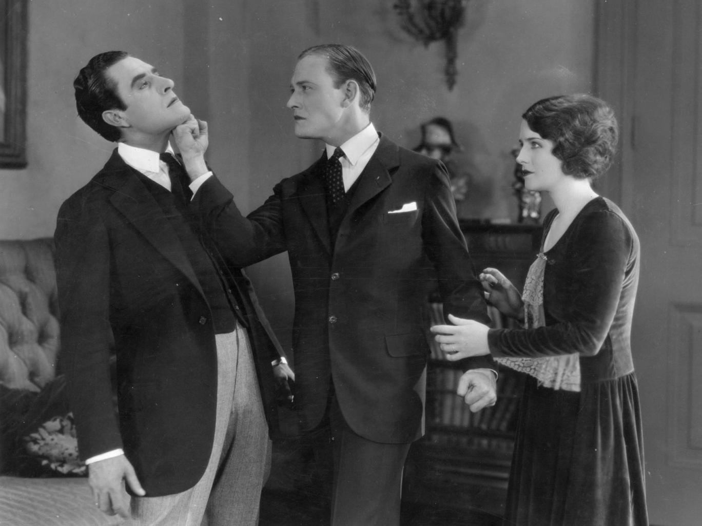 Norma Shearer, The Snob, polite fight, restrain, hold back