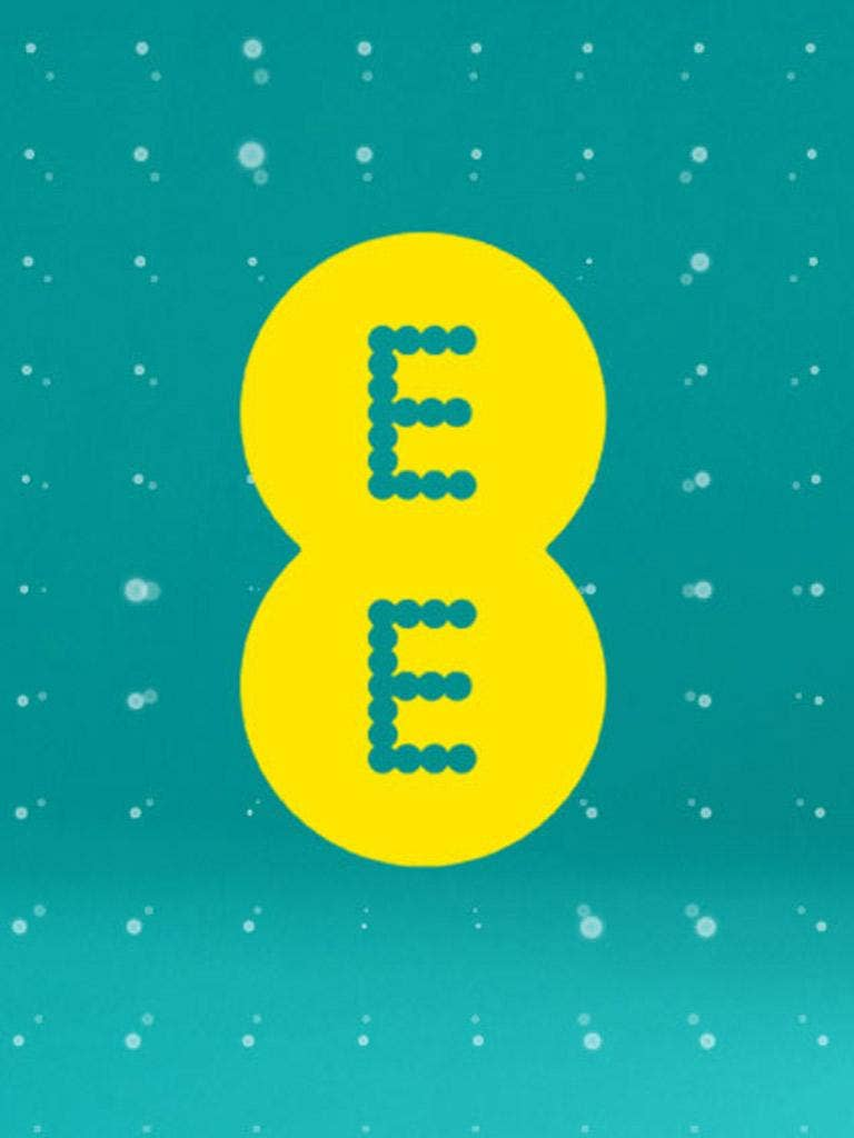 The new EE logo resembles a pair of ecstasy pills