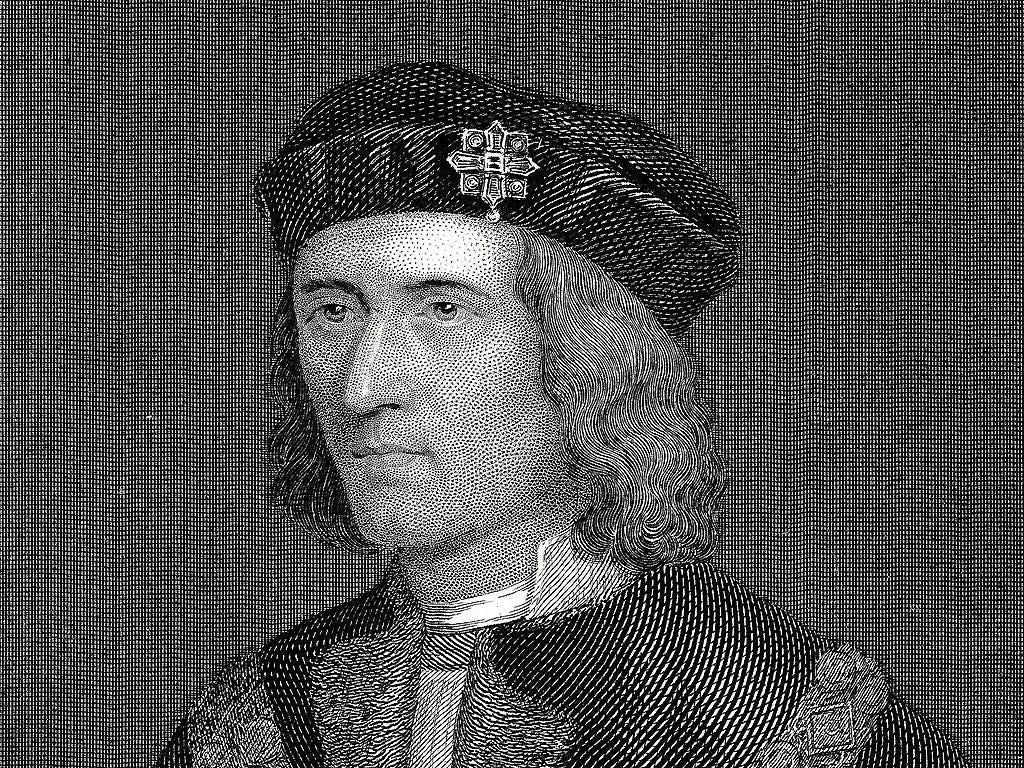 A portrait of Richard the III, King of England 1452-1485