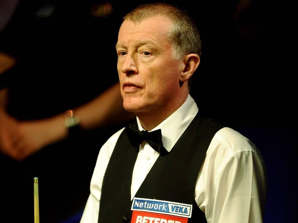 Snooker player Steve Davis