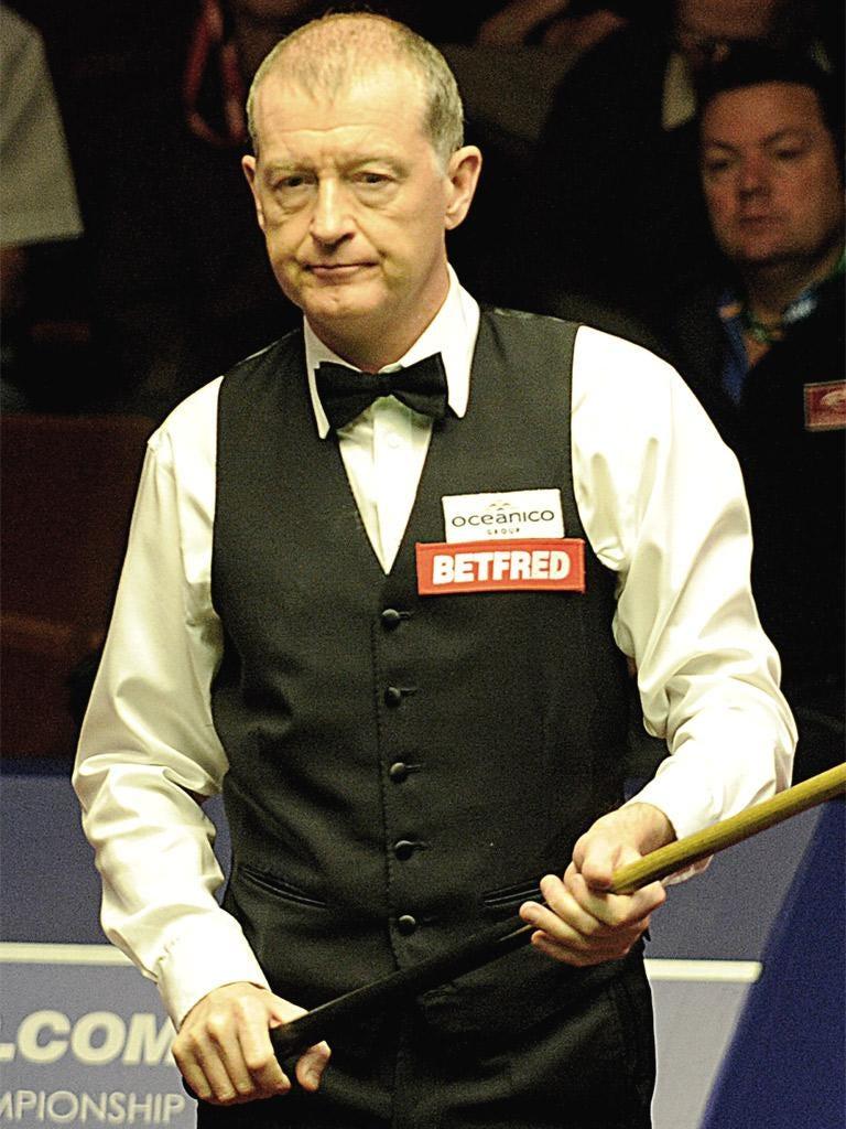 Six-time world champion Steve Davis