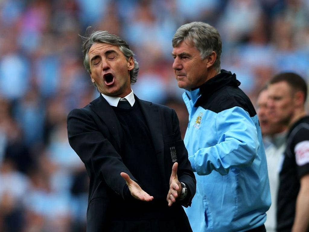 """Those who call me a 'football terrorist' should walk in my shoes"" - Roberto Mancini"