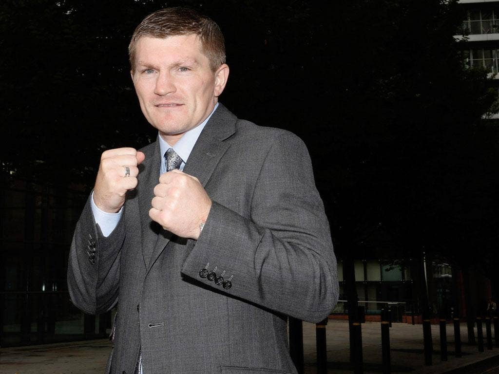 Many happy returns? The hardest game does not do fairytales, but Ricky Hatton is definitely hoping for one