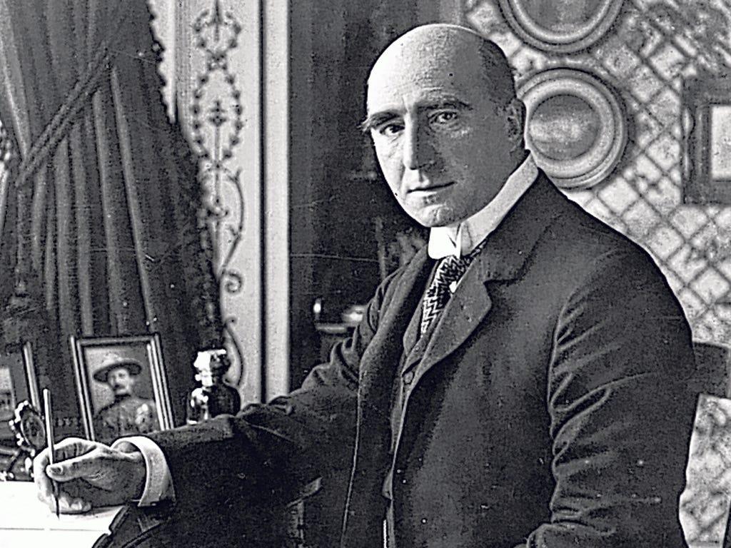 Wordsmith: English dramatist Sir Arthur Wing Pinero