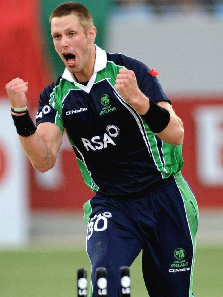 Seamer Boyd Rankin will turn in his green jersey after the tournament in the hope of fulfilling his dream of playing for England