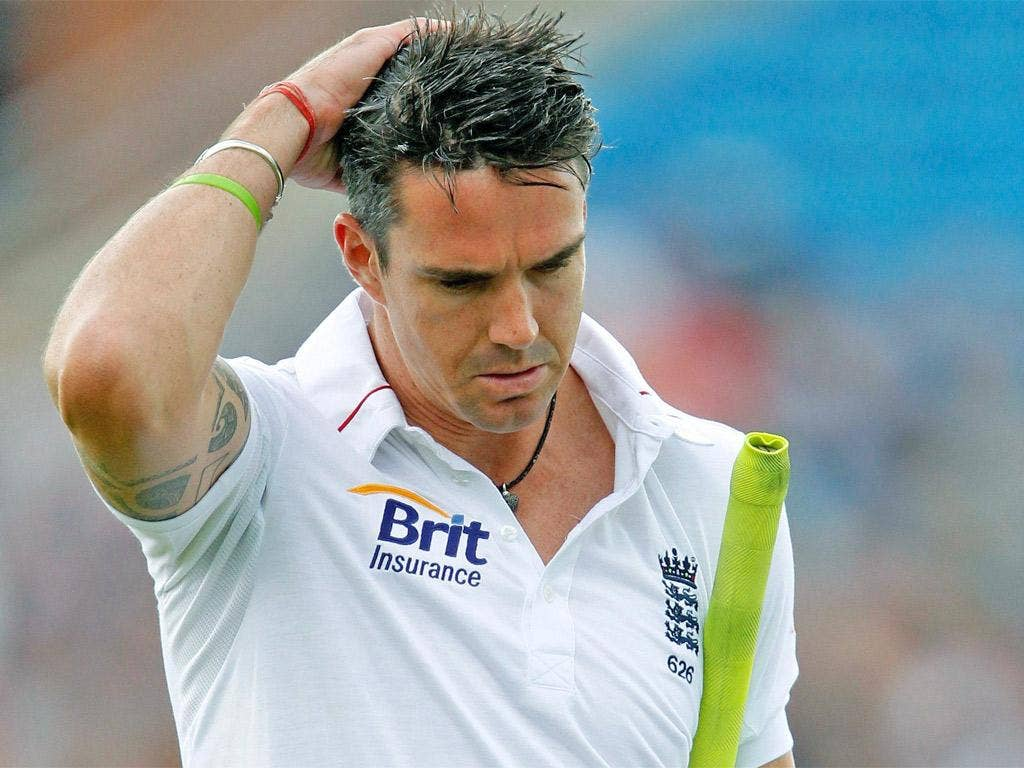 Kevin Pietersen has appeared disgruntled but still kept up his form with the bat