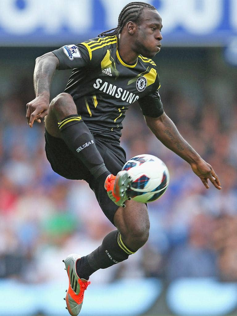 Victor Moses was attracted by the prospect of big European nights at Chelsea